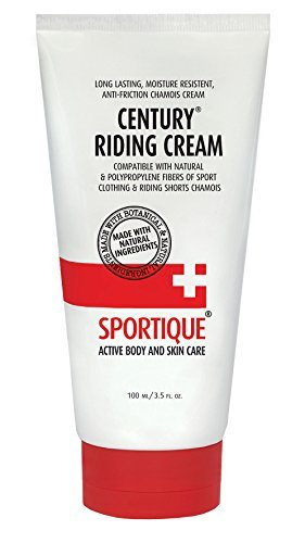 Century Riding Cream - Chamois, Anti-Chafe cream 3.5oz / 100ml -