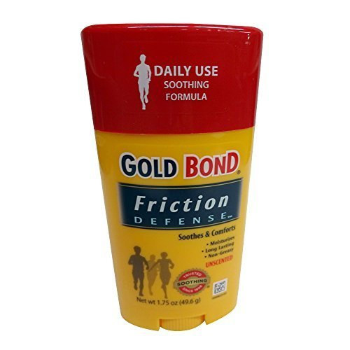 Gold Bond Friction Defense Soothing Formula Unscented- 1.75 Oz (Pack of 3) -
