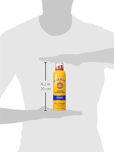 Gold Bond No Mess Spray Powder Fresh 7 oz. - 4