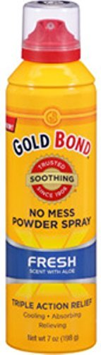 Gold Bond No Mess Spray Powder Fresh 7 oz. - 1