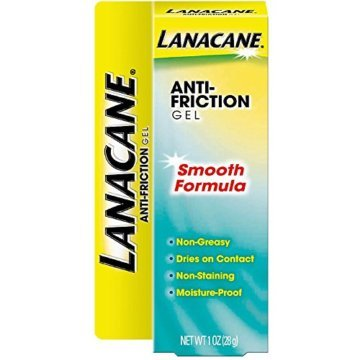 Lanacane Anti-Friction Gel, Smooth Formula 1 oz (Pack of 5) -