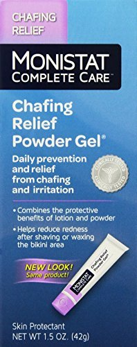 Monistat Soothing Care Chafing Relief Powder-Gel, 1.5-Ounce Tubes (Pack of 3) -